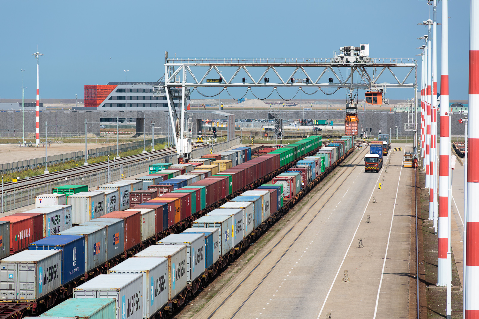 Rail terminal West Maasvlakte 1 Port of Rotterdam