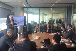 Stig meets with Suez Economic Zone Authority (April 2016)